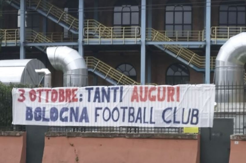 Auguri peri i tuoi 111 Anni Bologna Football Club!